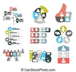 テンプレート, eps10, illustration., ビジネス, infographic, ベクトル