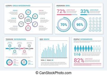 テンプレート, infographic