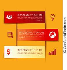 テンプレート, infographics
