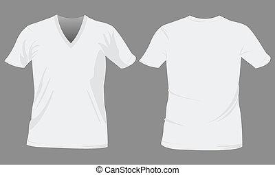 テンプレート, tシャツ, デザイン