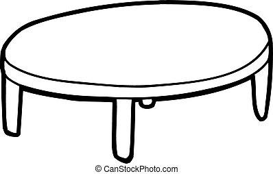 テーブル, アウトライン