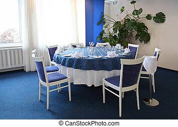 テーブル, カフェ