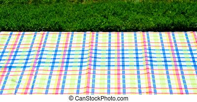 テーブル, テーブルクロス, ピクニック