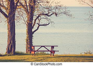 テーブル, ピクニック