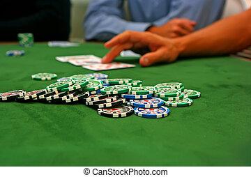テーブル, ポーカー