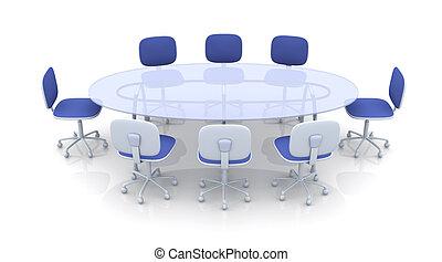 テーブル, 会議