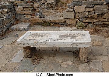 テーブル, 古代