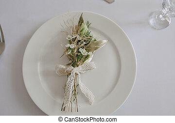 テーブル, 結婚式