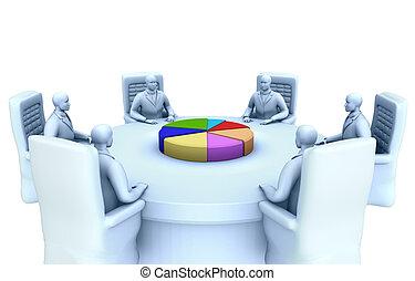 テーブル, 議論, ラウンド