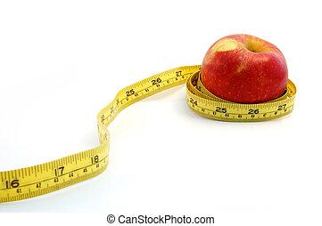 テープ, アップル, 測定