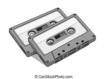 テープ, オーディオ