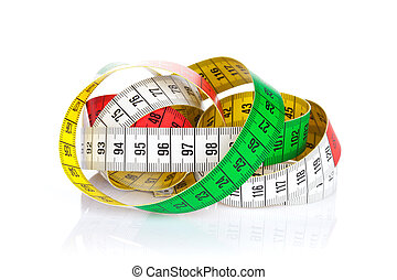 テープ, カラフルである, 測定