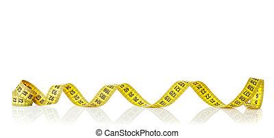 テープ, 黄色, 測定