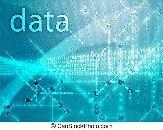 ディジット, データ, イラスト