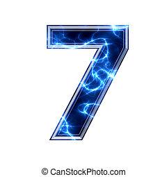 ディジット, -, 電気である, 7, 3d