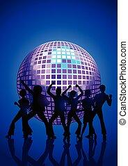 ディスコ, 人々, ダンス
