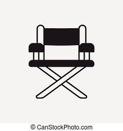 ディレクター椅子, アイコン