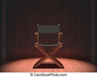 ディレクター椅子