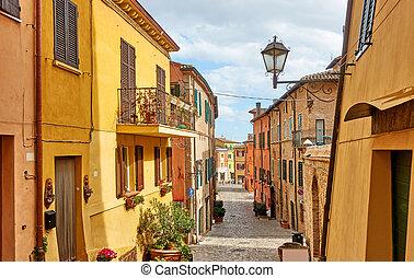 ∥ディ∥, romagna, イタリア語, 都市の景観, santarcangelo