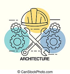 デザインを設定しなさい, 建築である, アイコン