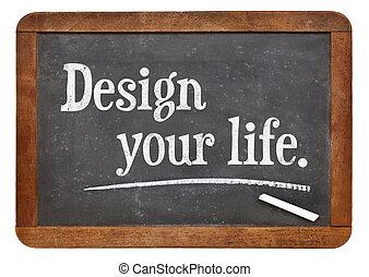 デザイン, あなたの, 生活