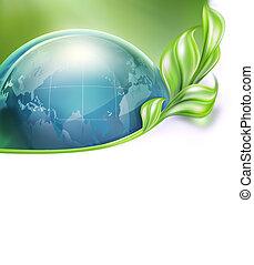 デザイン, の, 環境の保護