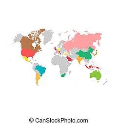 デザイン, イラスト, グループ, 20, 地図, 世界, g20, template., ベクトル, infographic, 国