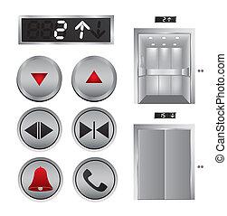 デザイン, エレベーター