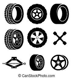 デザイン, タイヤ