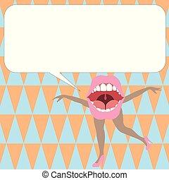 デザイン, バウチァ, ブランク, 歌うこと, レイアウト, ダンス, 腕を 開けなさい, スピーチ, テンプレート, 白, 足, 泡, 空, 平ら, ビジネス, ポスター, イラスト, 口, カード, 挨拶, ベクトル, 招待, 昇進
