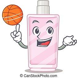 デザイン, バスケットボール, 香水, マスコット, 漫画, 運動