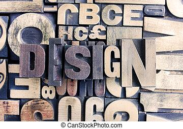 デザイン, 単語, 凸版印刷