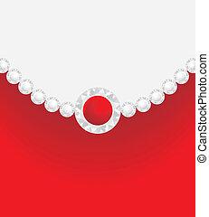 デザイン, 宝石類, 背景