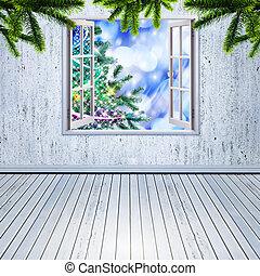 デザイン, 抽象的, 背景, あなたの, クリスマス