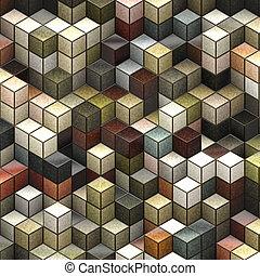 デザイン, 抽象的, 背景, あなたの, 立方