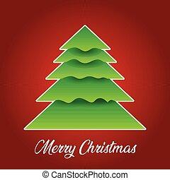 デザイン, 木, クリスマス, 背景