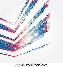 デザイン, 概念, 企業である, 現代, 要素