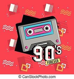 デザイン, 永久に, 90s