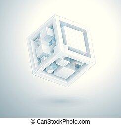 デザイン, 立方体, 現代