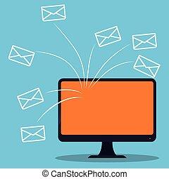 デザイン, 電子メール