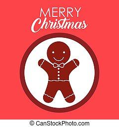 デザイン, coockie, メリークリスマス