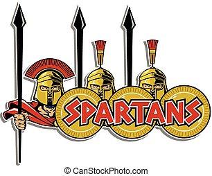 デザイン, spartans, 3