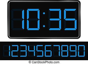 デジタルの時計