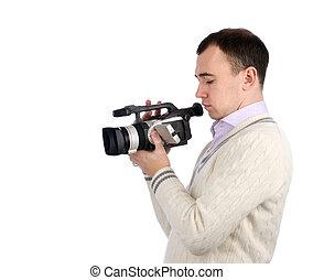 デジタルカメラ, ビデオ, 若者