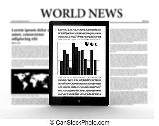 デジタルタブレット, ∥で∥, グラフ