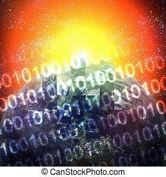デジタル世界, ∥で∥, 日の出
