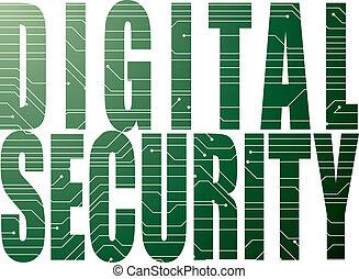 デジタル, セキュリティー