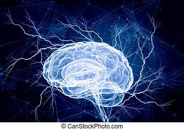 デジタル, 人間の頭脳