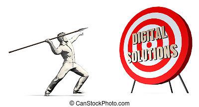 デジタル, 解決