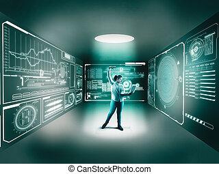 デジタル, 部屋